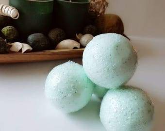 Relaxing Blend Handmade Bath Bombs. Free shipping over 30 dollars