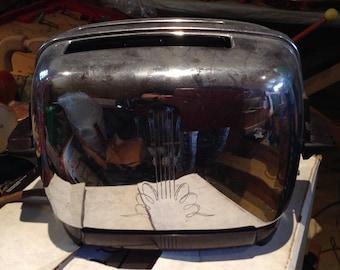 Vintage Chrome Toaster Circa 1950's
