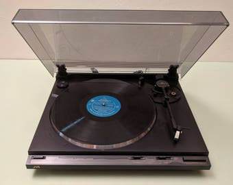 JVC AL-350 Belt Drive Auto-Return Turntable in Excellent Condition with Audio Technica SS315E/U Cartridge