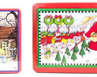 Mary Engelbreit Christmas Tins