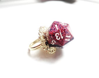 Ring of role-playing games + 2 charisma D20.