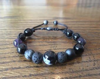 Wavey Core Shamballa Bracelet