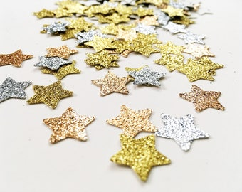 Metallic Mini Stars Confetti
