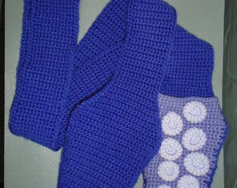 Crochet Tentacle Scarf with Pockets **Summer Sale!**