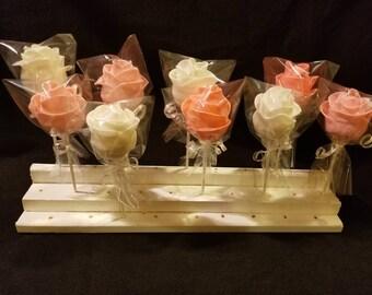 Rose cake pops (order is 13)