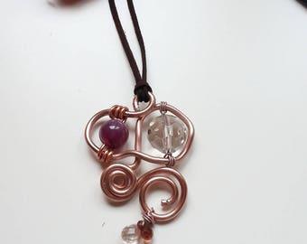 Aluminum copper pendant