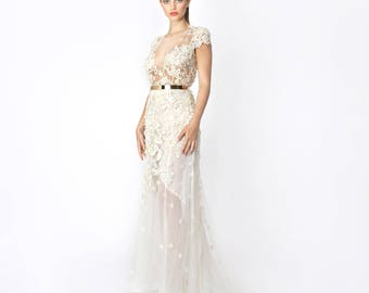 Bridal Couture, Wedding dress, Silk dress