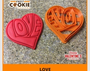 Love Heart Cookie Cutter