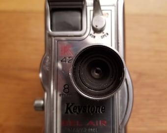 Vintage Keystone Bel Air Magazine K42 8mm Movie Camera
