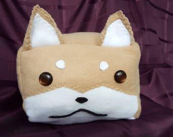 NEW Cute Shiba Inu Dog Pillow Plushie