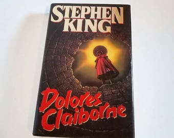 Dolores Claiborne by Stephen King/Hardcover 1st Edition/Horror