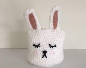 Cute Bunny Plant Pot Cover
