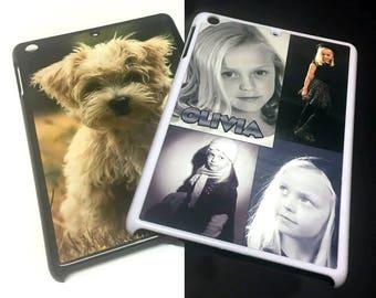 Personalised Apple iPad Mini 2 Case, Custom Printed Plastic iPad Mini II Case, Personalised Tablet Case, Design Your Own iPad Mini Case