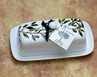 TRADITIONAL BUTTER DISH