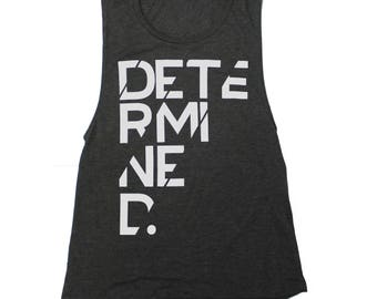 Determined Bella Canvas Womens Tank