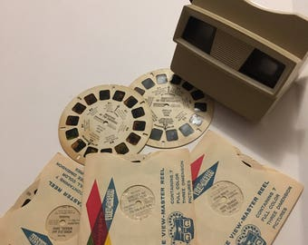 Vintage Viewmaster... circa 1960...Sawyers includes 5 reels