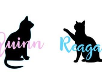 Custom Cat decals