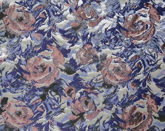 Floral brocade Haute Couture