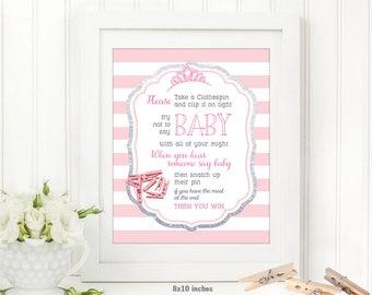 donu0027t say baby game girl baby shower invitation tutu invitation ballerina
