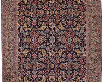 Extra Fine Allover Rare Floral Kerman Persian Rug Oriental Area Carpet 10X13