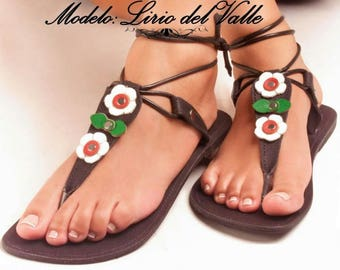 Hand-crafted Leather Sandals from the edge of the Caribbean