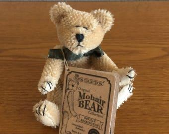 Vintage Boyds Bears Small Mohair Bear- 1997 Boyds Bears Stuffed Mohair Teddy Bear