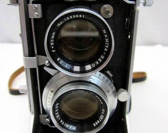 Mamiya Sekor c22 Professional vintage medium format film camera 120mm