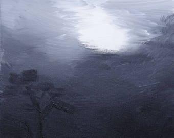 Clouds #2 art print 11x14