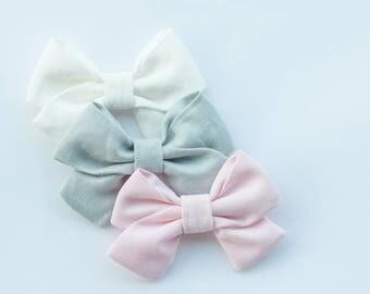 3 Large Sailor Bows