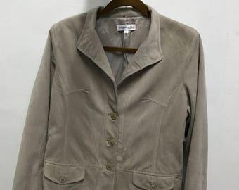 Vtg longchamp blazer jacket