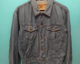 Vtg 90s kenzo jeans jacket ladies