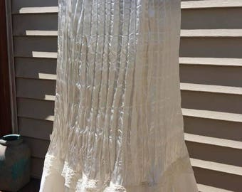 Robbie Bee Vintage 1980's White Skirt/Slip / Vintage Wedding Skirt / Bridal Lingerie / Wedding Lingerie