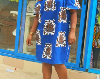 African wear/African clothing / African dress/ African print dress