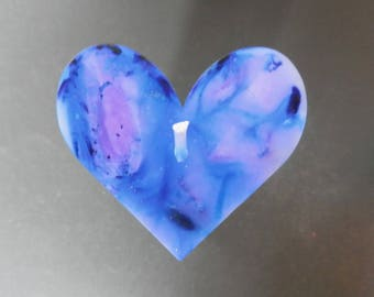 Handmade Candles, Blue Candle, Heart Candle, Decorative Candles