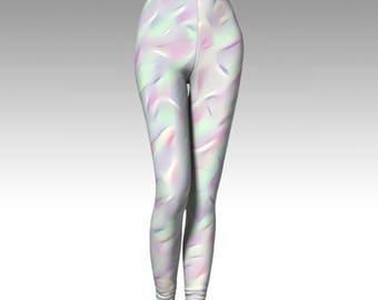 Unicorn Leggings, Magical Prints, Opal Leggings, Fairy Leggings, Cosplay Leggings, Costume Leggings, Premium Leggings, Activewear, Pixie