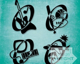 Music Sports Electronics and Travel Icons, Vector Art, PDF