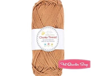 Nutmeg Chunky Crochet Thread from Lori Holt