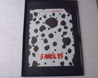 1995 Disney les 101 Dalmatiens original movie poster