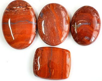 AAA Quality 150 Cts Natural Snakeskin Jasper, 26 to 35 mm Handmade Cabochon, Snake Skin Loose Stone, Jewelry Making Gemstone