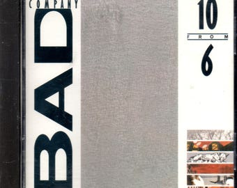 Bad Company - 10 from 6 - Best Of Bad Company - CD - 10 Tracks - VG+