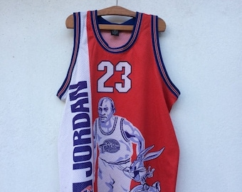 20% Off Vintage 90s Michael Jordan X Bugs Bunny Tune squad Spacejam Basketball Jersey