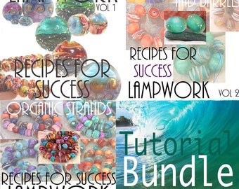 Lampwork Tutorial Bundle 3 Volumes Recipes for Success