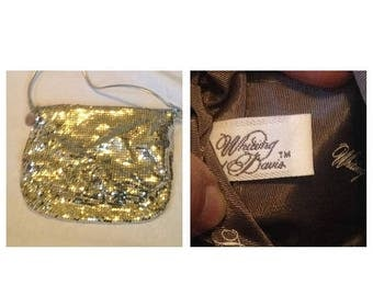 On Sale Vintage Whiting and Davis Purse