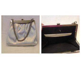 On Sale Vintage Silvertone Handbag