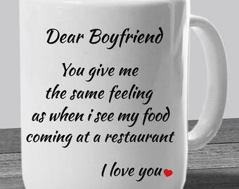 Funny Boyfriend Mug U2013 Gift Ideas For Boyfriend U2013 Funny Valentine Gift   Boyfriend  Gifts