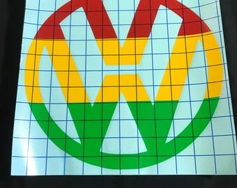 Reggae VW decal / sticker