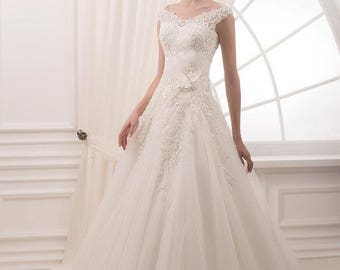 Wedding dress ''Heaven'' from NYC Bride, made in Europe