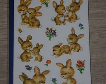 "three planks stickers themes ""rabbits"""