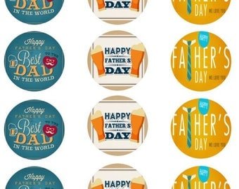 Father's Day Edible Images