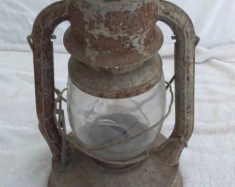 Antique Patina Railroad Lantern